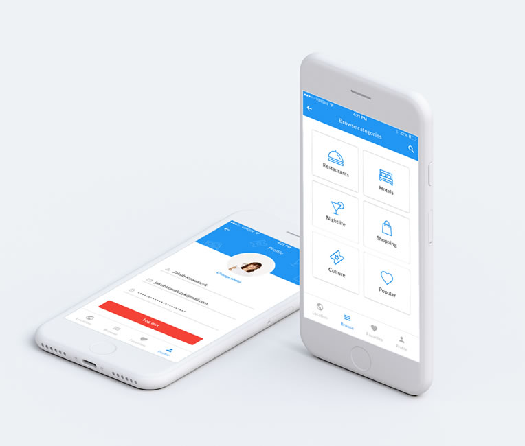IWS - Intelligent Web Solutions Mobile App