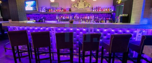 Piano bar interior